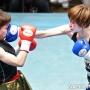 岸百合恵 トランクス・ガウン:RONER 写真:福田直樹