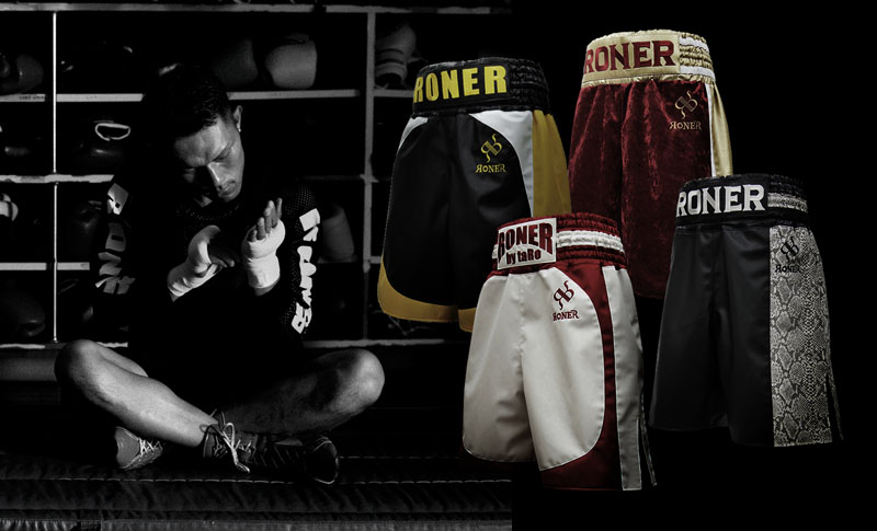 RonerEasyCustom 簡単に始めるボクシングトランクス ヘッダー画像