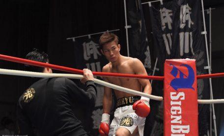 利川聖隆(横浜光)画像提供:ボクシングモバイル