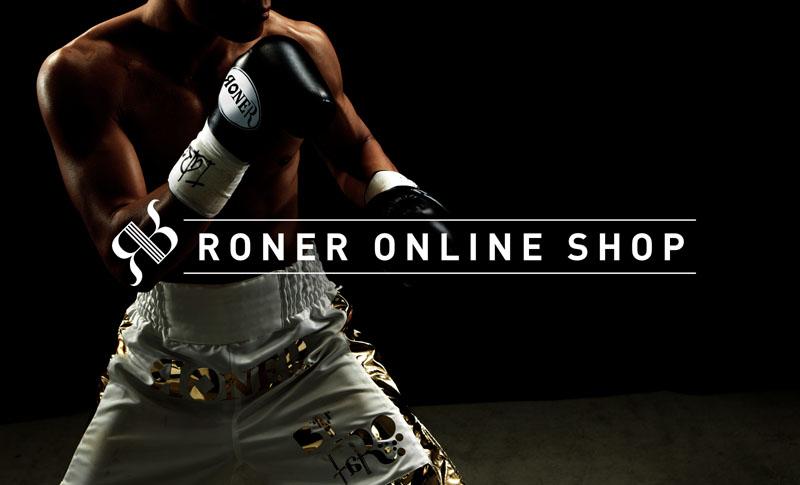 ボクシングをテーマにしたオンラインショップ |RONER by taRo ボクシング衣装オーダー専門サイト ヘッダー画像