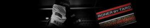 RONER by taRo(ロナー)ボクシングトランクス ワッペン・スポンサー様の広告用刺繍 バナー画像